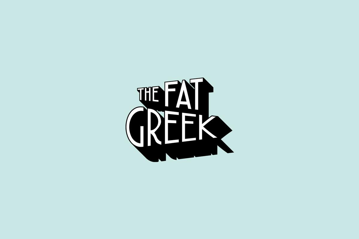 Logo ontwerper The Fat Greek Tilburg