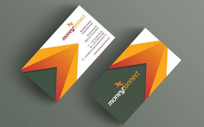 MoneyConnect business cards